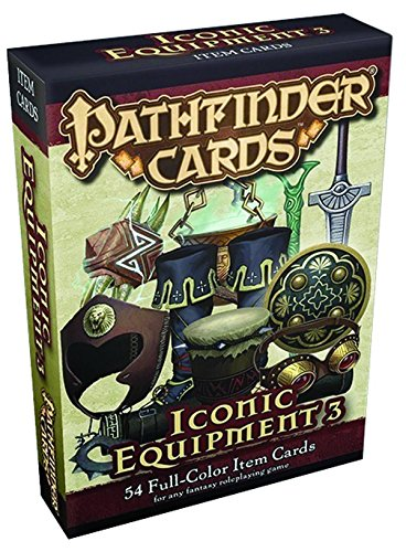 Pathfinder Cards: Iconic Equipment 3 Item Cards Deck (Pathfinder Cards Deck 3)
