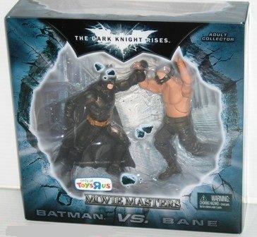 Batman Dark Knight Rises Movie Masters Exclusive Deluxe Action Figure 2Pack Batman Vs. Bane at Gotham City Store