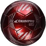 Champro Soccer Ball (Scarlet Panels, 4), 4/Scarlet Panels
