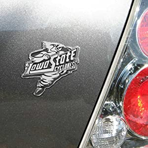 Buy Iowa State Cyclones Chrome Auto Emblem by Football Fanatics