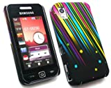 FLASH SUPERSTORE SAMSUNG S5230 TOCCO LITE SHOOTING STARS CLIP ON PROTECTION CASE/COVER/SKIN