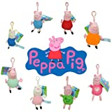 Acquista Portachiavi Peluche Peppa Pig 15cm Assortiti