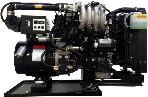 POWER TECH PTSG-25, 25,000 WATT GAS DRIVEN GENERATOR