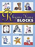 Rhyme-Time Blocks Applique and Embroidery Patterns