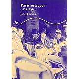 París era ayer: (1925-1939) (Trayectos Supervivencias)