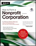 img - for How to Form a Nonprofit Corporation (book w/ CD-Rom) book / textbook / text book