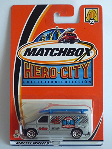 MATCHBOX 2002 Hero City #52 Ford Panel Van - 1