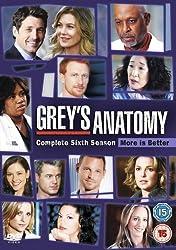 Grey's Anatomy Season 6 [DVD]