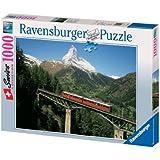 Puzzle: Train Bridge at the Matterhorn
