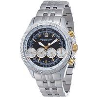 [ブルッキアーナ]BROOKIANA 腕時計 機械式  4連マルチカレンダー BA1676-BKGP メンズ