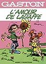 Gaston classique - Gaston et mlle Jeanne - l'amour de Lagaffe par Franquin