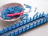 Tricotin rectangulaire - Comment terminer un tricotin ...