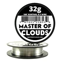 100ft. Kanthal A1 Resistance Wire 32 AWG Gauge 100' Lengths