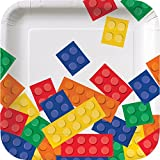 """Creative Converting 8-Count Square Paper Lunch Plates, 7"""""""