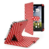Polka Dot Dots Premium Luxury Leather Folding Flip Case Cover Wallet Stand Protection Protector BOOK Skin Pouch For 10