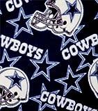 NFL Dallas Cowboys Football Fleece Fabric Print By the Yard