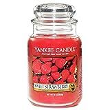 Yankee Candle Large Jar Candle, Sweet Strawberry