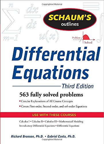 Schaum's Outline of Differential Equations, 3ed (Schaum's...