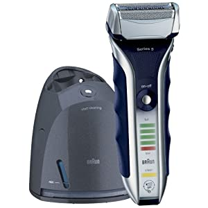 Braun Series 5 590cc Clean & Renew System Electric Rechargeable Male Foil Shaver