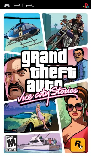 Grand Theft Auto Vice City Stories - Sony Psp