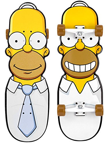 BRAND NEW THE SIMPSONS Santa Cruz Skateboard THE HOMER CRUISER