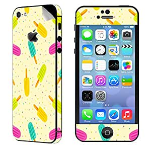 Theskinmantra Candy colours Apple iPhone 5S mobile skin