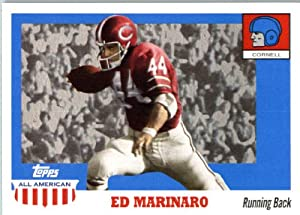 2005 Topps All-American Football Card # 35 Ed Marinaro ...  Ed