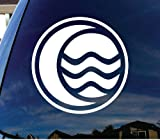 "Avatar The Legend of Korra Water Car Window Vinyl Decal Sticker 5"" Wide"