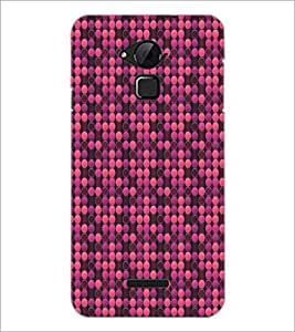 PrintDhaba Pattern D-5310 Back Case Cover for COOLPAD NOTE 3 LITE (Multi-Coloured)