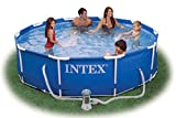 Intex 12ft x 30in Deep Metal Frame Pool with filter pump #28212