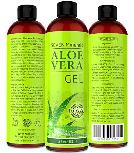 Aloe vera gel for thinning hair