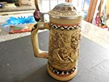 "1988 Avon Lidded Beer Stein ""Indians Of The American Frontier"" # 72382"