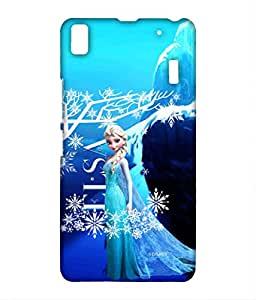 Block Print Company Elsa Phone Cover for Lenovo K3 note