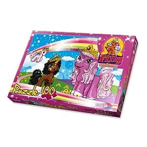 Schauen Sie sich Kundenbewertung für Noris-Spiele 606037371 - Filly Unicorn - Auf dem Weg, 100 Teile Puzzle