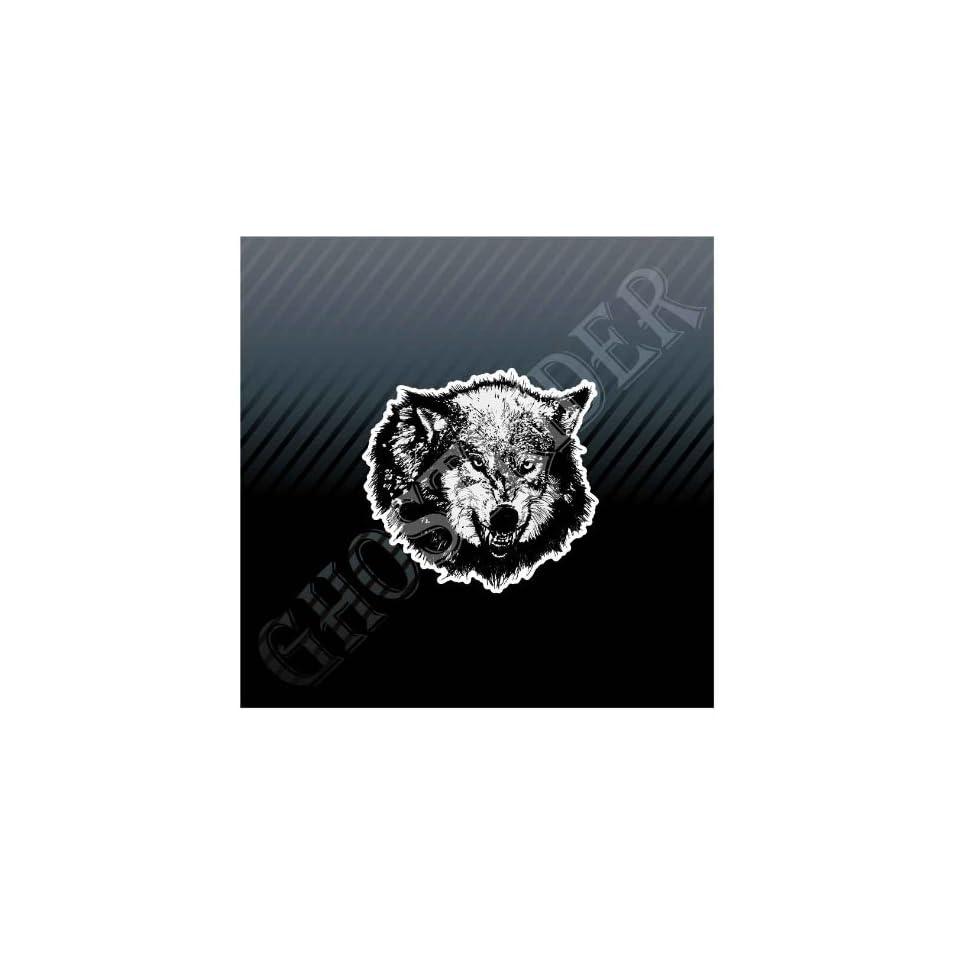Hunter Wolf Wolfhound Monster Head Off Road 4x4 Car Trucks