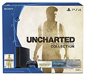 500GB PlayStation 4 Uncharted: The Nathan Drake Collection Bundle