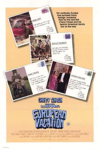 National Lampoon's European Vacation Poster Movie B 11x17 Chevy Chase Beverly D'Angelo Dana Hill