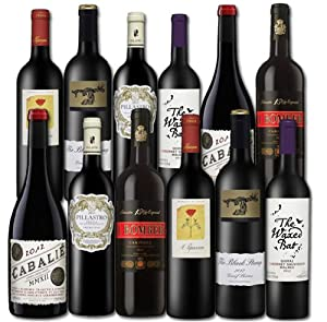 Red wine - Top Sellers mixed case - (Case of 12)