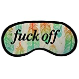Novelty Feathers Pattern Eye Mask -