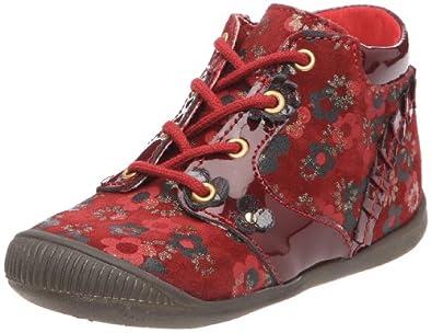 little mary lucette chaussures b b fille rouge 25 eu chaussures et sacs. Black Bedroom Furniture Sets. Home Design Ideas