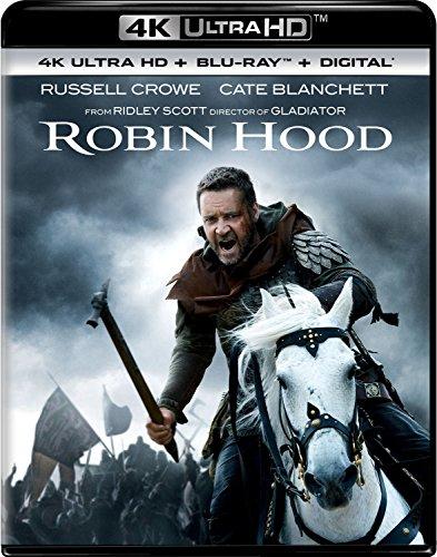 4K Blu-ray : Robin Hood (With Blu-ray, 4K Mastering, Director's Cut / Edition, Digital Copy, 2 Pack)
