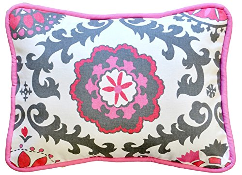 New Arrivals Accent Pillow, Ragamuffin in Pink - 1