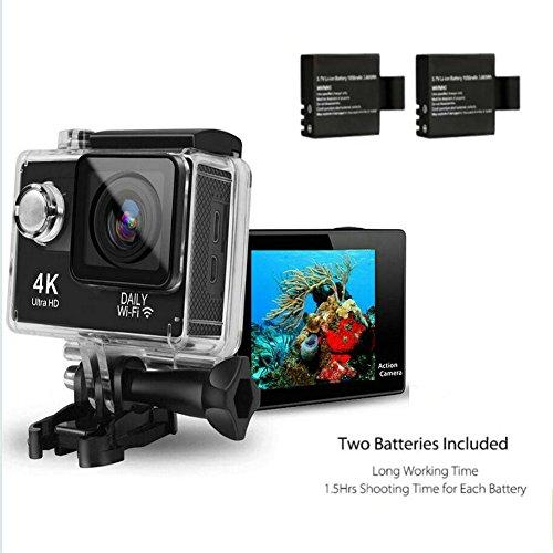 DAILY-Original-4K-Dual-Display-Mini-Ultra-HD-1080P-WiFi-DV-Action-Waterproof-Sports-CameraWasserdichte-Sportkamera-Camcorder-mit-Fernbedienung-