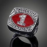 1985 Oklahoma Sooners National Championship Ring Replica Fans Souvenir,Size 12