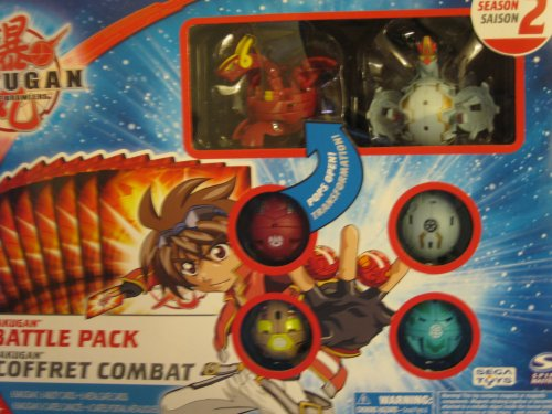 Bakugan Battle Pack New Vestroia Season 2