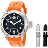 Nautica Men's N14508 BFC Stainless Steel Diver Watch