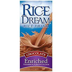 Rice Dream Rice Drink, Chocolate, 32 Ounce (Pack of 12)