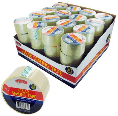 Packing Tape Display Case Pack 64