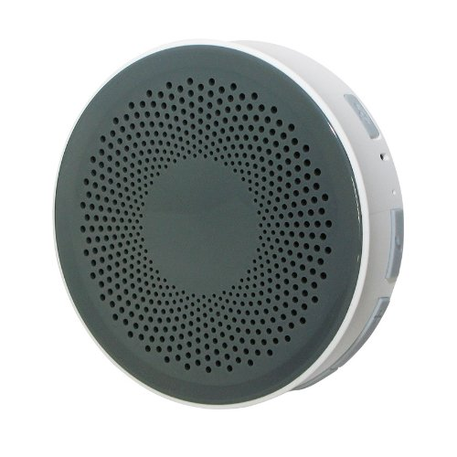 Bluetooth 防水 ワイヤレス オーディオ スピーカー グレー/ホワイト お風呂 バス シャワー対応 [Bluetooth3.0][IPX4] iphone スマホ 対応 Hanwha  HS-BWS001-G