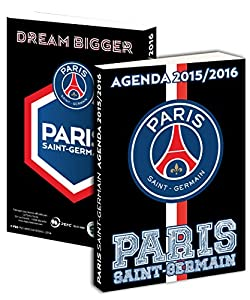 Agenda scolaire PSG 2015 / 2016 - Collection officielle PARIS SAINT GERMAIN - Rentrée scolaire